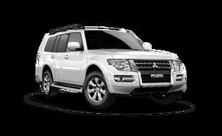 2021 Mitsubishi Pajero NX MY22 GLX Final Edition White Solid 5 Speed Sports Automatic Wagon