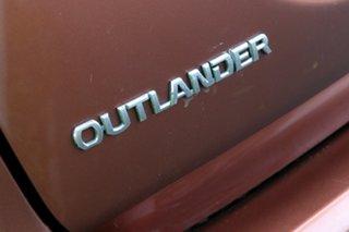 2012 Mitsubishi Outlander ZH MY12 LS Orange 6 Speed Constant Variable Wagon