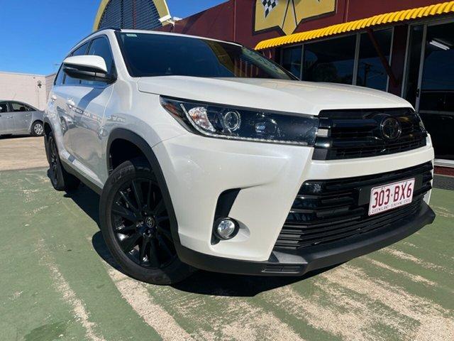Used Toyota Kluger GSU55R Black Edition AWD Toowoomba, 2019 Toyota Kluger GSU55R Black Edition AWD 8 Speed Sports Automatic Wagon