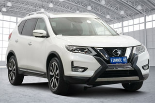 2019 Nissan X-Trail T32 Series II Ti X-tronic 4WD White 7 Speed Constant Variable Wagon.