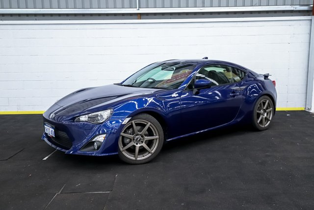 Used Toyota 86 ZN6 GTS Canning Vale, 2016 Toyota 86 ZN6 GTS Blue 6 Speed Manual Coupe