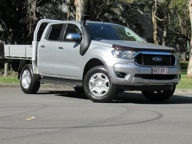Used Ford Ranger PX MkII 2018.00MY XLT Double Cab, 2017 Ford Ranger PX MkII 2018.00MY XLT Double Cab Silver 6 Speed Manual Utility