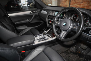 2016 BMW X3 F25 LCI xDrive20d Steptronic Black Sapphire 8 Speed Automatic Wagon.