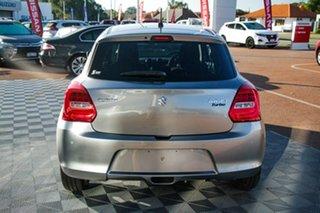 2021 Suzuki Swift AZ Series II GLX Turbo Premium Silver 6 Speed Sports Automatic Hatchback.