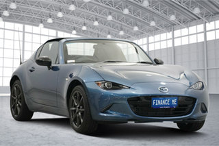 2018 Mazda MX-5 ND SKYACTIV-MT Eternal Blue 6 Speed Manual Roadster.