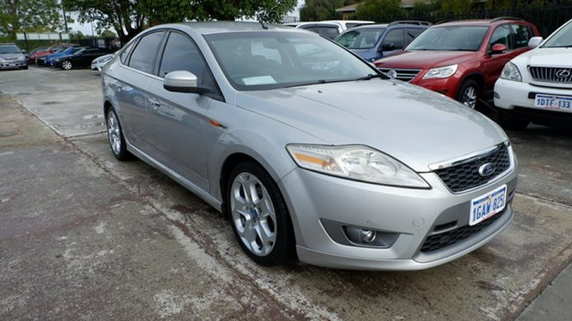 Used Ford Mondeo MA XR5 Turbo St James, 2008 Ford Mondeo MA XR5 Turbo Silver 6 Speed Manual Hatchback