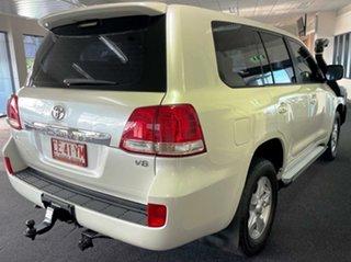 2011 Toyota Landcruiser VDJ200R MY10 Altitude White 6 Speed Sports Automatic Wagon.