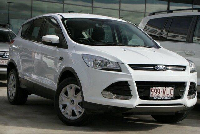 Used Ford Kuga TF Ambiente AWD Aspley, 2014 Ford Kuga TF Ambiente AWD White 6 Speed Sports Automatic Wagon