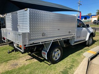 2016 Holden Colorado RG MY16 LS (4x4) White 6 Speed Automatic Cab Chassis.