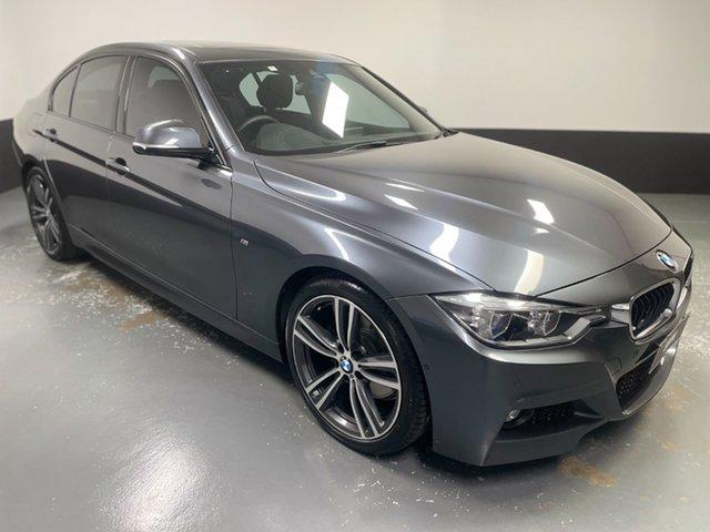 Used BMW 3 Series F30 LCI 330i Luxury Line Newcastle West, 2016 BMW 3 Series F30 LCI 330i Luxury Line Grey 8 Speed Sports Automatic Sedan