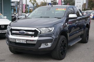 2017 Ford Ranger PX MkII XLT Super Cab Grey 6 Speed Manual Utility