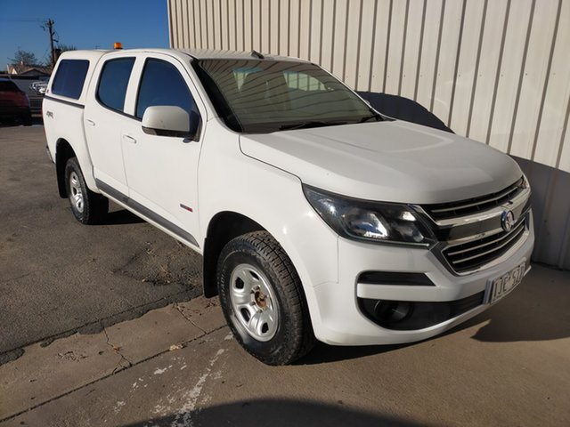 Used Holden Colorado RG MY17 LS Pickup Crew Cab Horsham, 2016 Holden Colorado RG MY17 LS Pickup Crew Cab 6 Speed Sports Automatic Utility