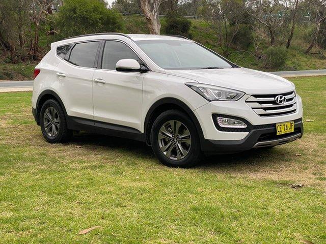 Used Hyundai Santa Fe DM2 MY15 Active Wodonga, 2015 Hyundai Santa Fe DM2 MY15 Active White 6 Speed Sports Automatic Wagon