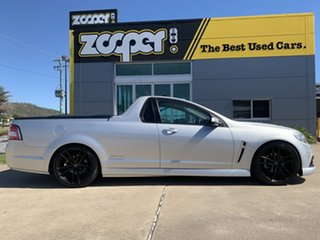2014 Holden Ute VF MY14 SV6 Ute Storm Silver/260614 6 Speed Manual Utility.