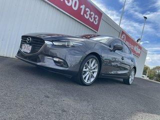 2017 Mazda 3 BN5438 SP25 SKYACTIV-Drive Grey 6 Speed Sports Automatic Hatchback.