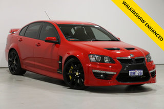 2010 Holden Special Vehicles GTS E2 Series Sting Red 6 Speed Manual Sedan.