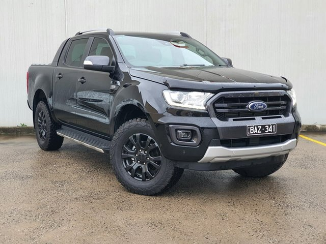 Used Ford Ranger PX MkIII 2019.75MY Wildtrak Oakleigh, 2019 Ford Ranger PX MkIII 2019.75MY Wildtrak Black 6 Speed Sports Automatic Double Cab Pick Up
