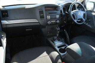 2013 Mitsubishi Pajero NW MY13 GLX White 5 Speed Sports Automatic Wagon