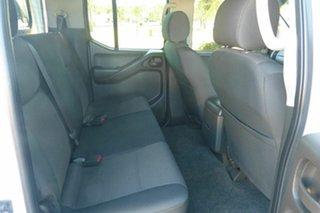 2011 Nissan Navara D40 S6 MY12 RX White 6 Speed Manual Utility