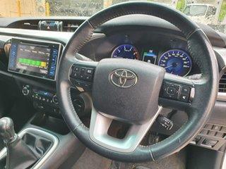 2018 Toyota Hilux GUN126R SR5 Double Cab White 6 Speed Manual Utility.
