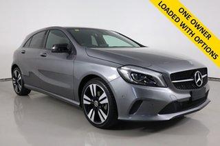 2017 Mercedes-Benz A180 176 MY17.5 Grey 7 Speed Automatic Hatchback.