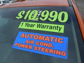 2012 Ford Falcon FG MkII XR6 Orange 6 Speed Sports Automatic Sedan