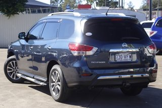 2014 Nissan Pathfinder R52 MY14 ST X-tronic 2WD Blue 1 Speed Constant Variable Wagon.