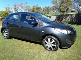 2010 Mazda 2 DE10Y1 MY10 Neo Grey 5 Speed Manual Hatchback.