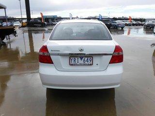 2011 Holden Barina TK MY11 White 4 Speed Automatic Hatchback