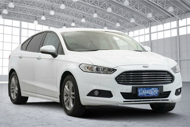 Used Ford Mondeo MD 2018.75MY Ambiente Victoria Park, 2018 Ford Mondeo MD 2018.75MY Ambiente White 6 Speed Sports Automatic Dual Clutch Hatchback