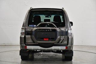 2015 Mitsubishi Pajero NX MY15 Exceed Brown 5 Speed Sports Automatic Wagon