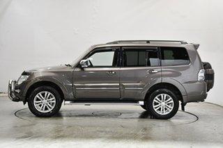 2015 Mitsubishi Pajero NX MY15 Exceed Brown 5 Speed Sports Automatic Wagon.