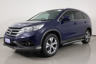 2014 Honda CR-V 30 MY14 DTI-L (4x4) Blue 5 Speed Automatic Wagon.