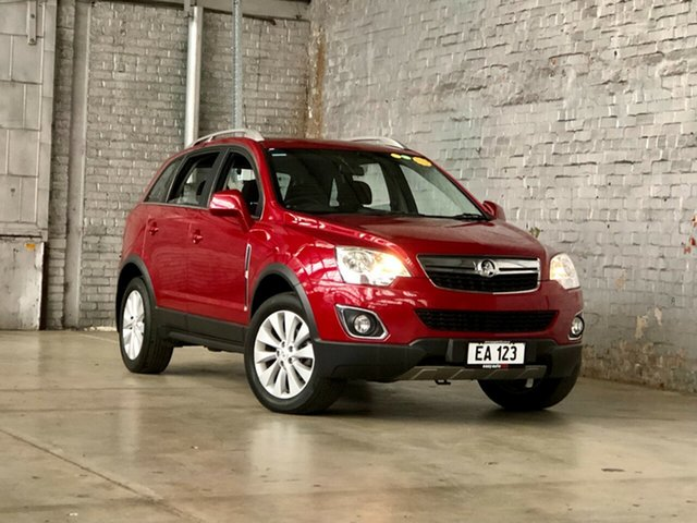 Used Holden Captiva CG MY15 5 LT Mile End South, 2015 Holden Captiva CG MY15 5 LT Red 6 Speed Sports Automatic Wagon