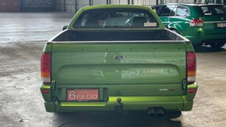 2004 Ford Falcon BA XR8 Ute Super Cab Green 4 Speed Sports Automatic Utility.