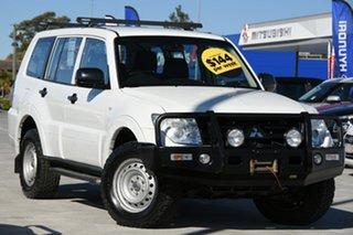 2013 Mitsubishi Pajero NW MY13 GLX White 5 Speed Sports Automatic Wagon.