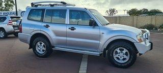 2006 Mitsubishi Pajero NP MY06 GLX Silver 5 Speed Sports Automatic Wagon