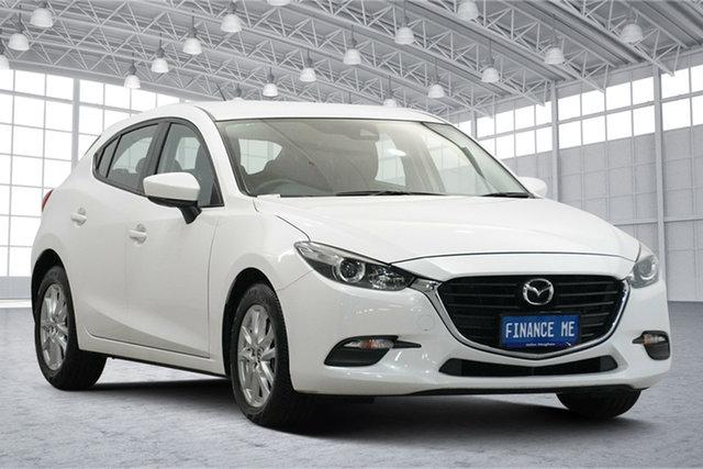 Used Mazda 3 BM5478 Neo SKYACTIV-Drive Victoria Park, 2016 Mazda 3 BM5478 Neo SKYACTIV-Drive White 6 Speed Sports Automatic Hatchback