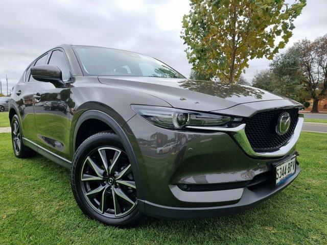 Used Mazda CX-5 KF4WLA Akera SKYACTIV-Drive i-ACTIV AWD Hindmarsh, 2017 Mazda CX-5 KF4WLA Akera SKYACTIV-Drive i-ACTIV AWD Titanium Flash 6 Speed Sports Automatic