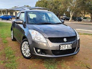 2011 Suzuki Swift FZ GLX Grey 4 Speed Automatic Hatchback.