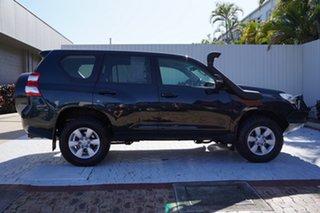 2016 Toyota Landcruiser Prado GDJ150R GX Black 6 Speed Sports Automatic Wagon.