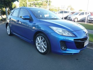 2011 Mazda 3 BL SP25 Blue 5 Speed Automatic Hatchback.