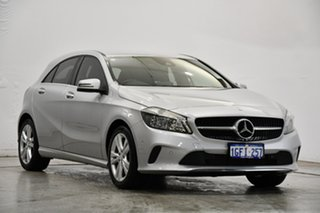 2017 Mercedes-Benz A-Class W176 807MY A180 D-CT Silver 7 Speed Sports Automatic Dual Clutch