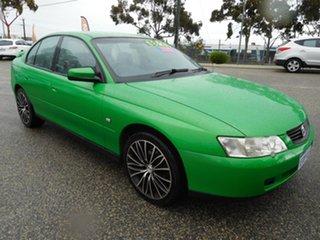 2002 Holden Commodore VX II S Green 5 Speed Manual Sedan.
