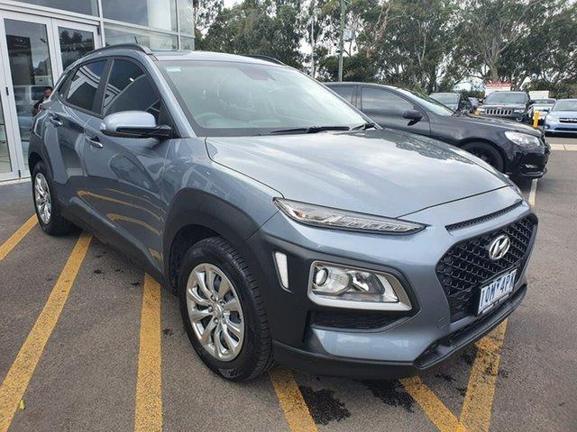 Used Hyundai Kona OS.3 MY20 Go 2WD Epsom, 2019 Hyundai Kona OS.3 MY20 Go 2WD Silver 6 Speed Sports Automatic Wagon