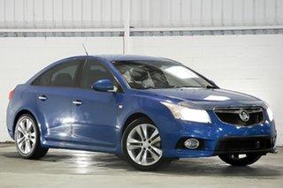2013 Holden Cruze JH Series II MY13 SRi Blue 6 Speed Manual Sedan.