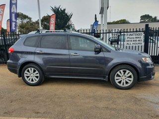 2012 Subaru Tribeca B9 MY12 R AWD Premium Pack Silver 5 Speed Sports Automatic Wagon.