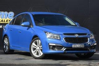 2015 Holden Cruze JH Series II MY15 SRi Blue 6 Speed Sports Automatic Sedan.