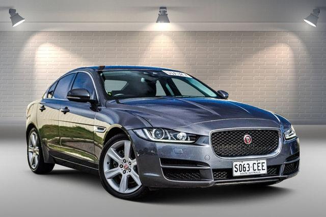 Used Jaguar XE X760 MY16 Prestige Gepps Cross, 2016 Jaguar XE X760 MY16 Prestige Grey 8 Speed Sports Automatic Sedan