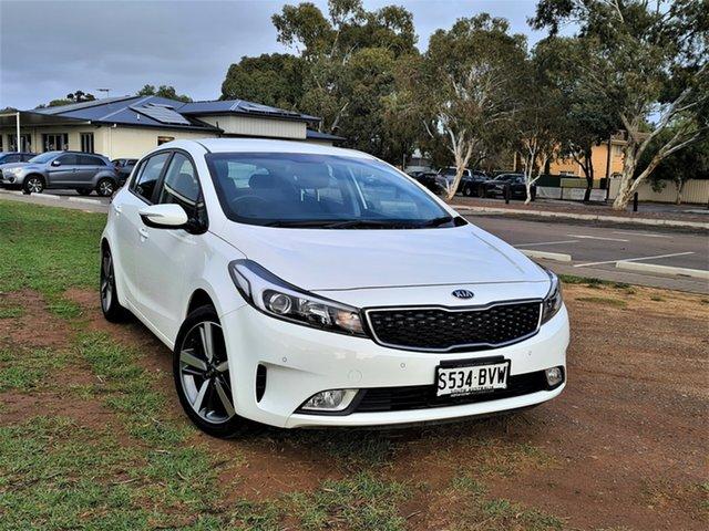 Used Kia Cerato YD MY18 Sport St Marys, 2018 Kia Cerato YD MY18 Sport White 6 Speed Sports Automatic Hatchback